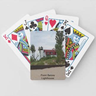 Point Betsie Lighthouse Bicycle Playing Cards