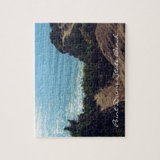 Point Dume State Beach, Malibu, California Jigsaw Puzzle