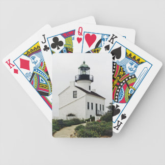 Point Loma Lighthouse playing cards