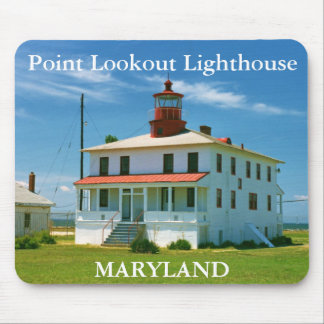 Point Lookout Lighthouse, Maryland Mousepad
