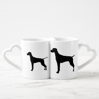 Pointer sporting hunting dog Silhouette Lovers Mug