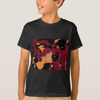 Poison Apple Abstract Tee Shirt