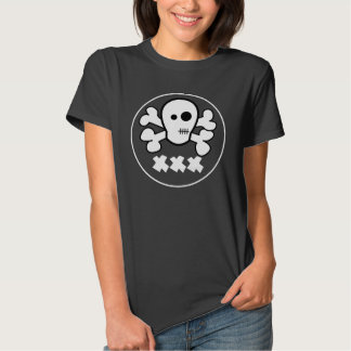 Poison - Cool Pirate Theme Ladies Shirt