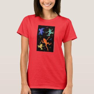 Poisonous frogs art t-shirt design