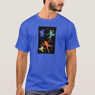 Poisonous frogs t-shirt design