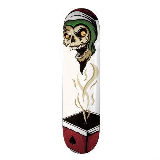 Poker Box Joker Zombie Skull Skate Board Deck