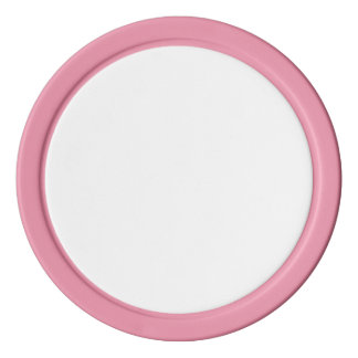 Poker Chips w/ Pink Solid Edge