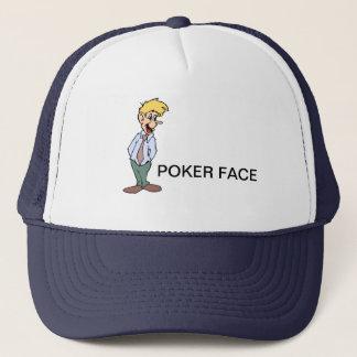 POKER FACE TRUCKER HAT
