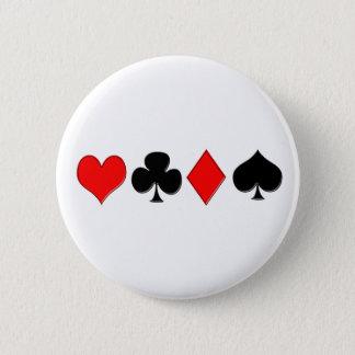 Poker Suits Button