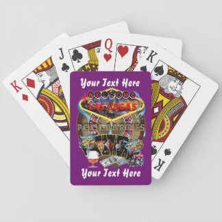 Poker Vegas Style Pool Party 1 Playing Cards