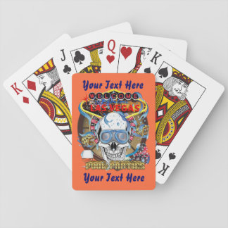 Poker Vegas Style Pool Party 3 Playing Cards