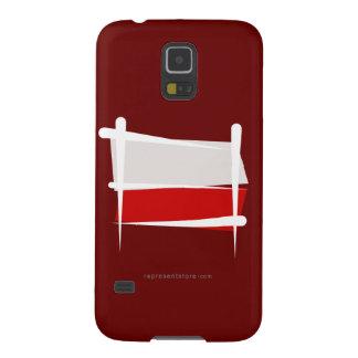 Poland Brush Flag Galaxy S5 Cover