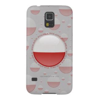 Poland Bubble Flag Galaxy S5 Cases
