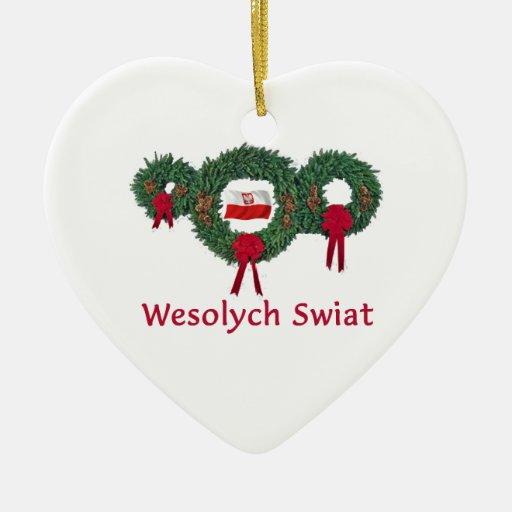 Poland Christmas 2 Christmas Tree Ornaments Zazzle