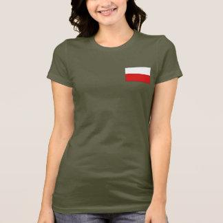 Poland Flag and Map dk T-Shirt
