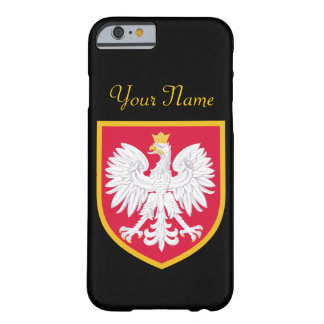 Poland Flag Barely There iPhone 6 Case