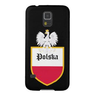 Poland Flag Case For Galaxy S5