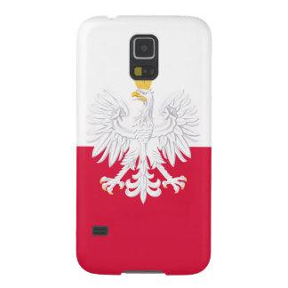 Poland Flag Cases For Galaxy S5