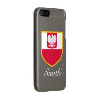 Poland Flag Incipio Feather® Shine iPhone 5 Case