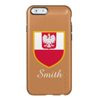Poland Flag Incipio Feather® Shine iPhone 6 Case