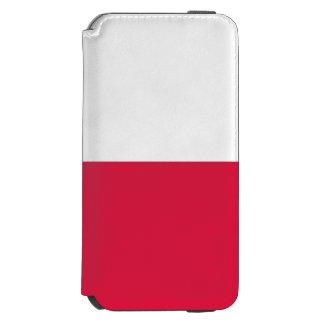 Poland Flag Incipio Watson™ iPhone 6 Wallet Case