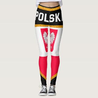 Poland Flag Leggings