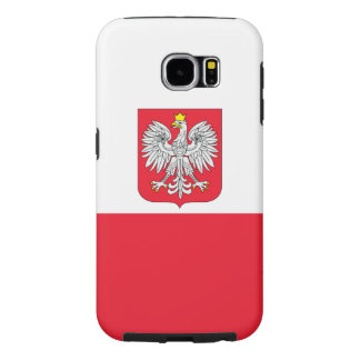 Poland Flag Samsung Galaxy S6 Cases