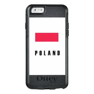 Poland Flag Simple Dark OtterBox iPhone 6/6s Case