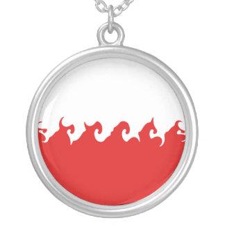 Poland Gnarly Flag Custom Jewelry