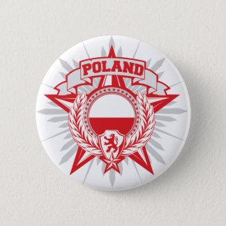 Poland Heraldy 6 Cm Round Badge