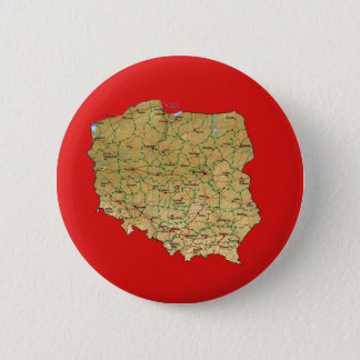 Poland Map Button