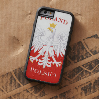 Poland Polish Flag Tough Xtreme iPhone 6 Case