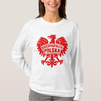 "Poland ""Rzeczpospolita Polska"" Eagle Motif T-Shirt"