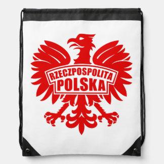 "Poland ""Rzeczpospolita Polska"" Eagle Symbol Backpacks"