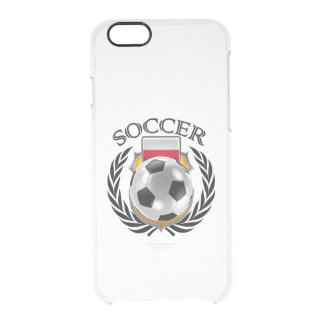 Poland Soccer 2016 Fan Gear Clear iPhone 6/6S Case