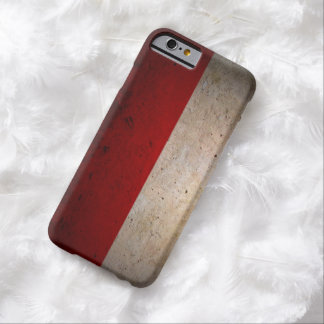 Poland Urban Grunge Flag iPhone 6 Case