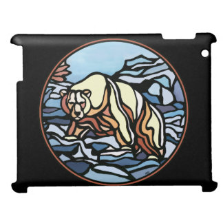 Polar Bear Art Ipad Case Native Art Gifts