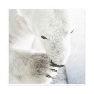 Polar Bear Canvas Art