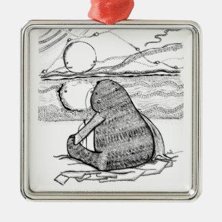 Polar Bear. Christmas Ornament