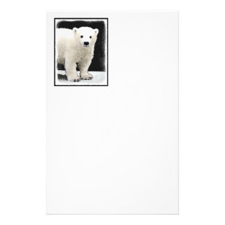 Polar Bear Cub Stationery