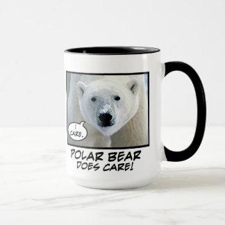 Polar Bear Does Care ! mug