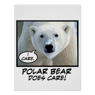 Polar Bear Does Care ! poster