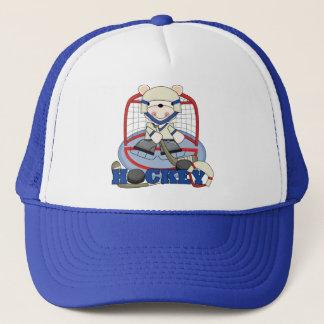Polar Bear Hockey Goalie Tshirts and Gifts Trucker Hat