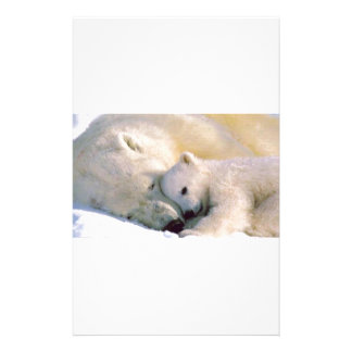 Polar Bear Hugs Stationery