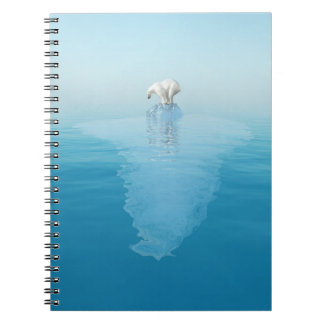 Polar Bear on Iceberg Notebook
