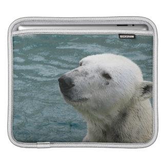 Polar Bear Profile iPad Sleeve