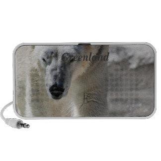 Polar Bear Laptop Speakers