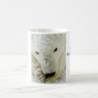 polar-bear, Use for, HOT drinks, It's freezing ... Basic White Mug