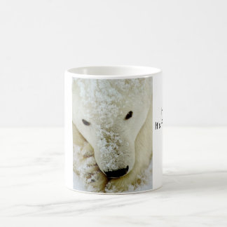 polar-bear, Use for, HOT drinks, It's freezing ... Basic White Mug