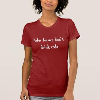 Polar bears and cola T-Shirt